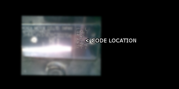 Vehicle Service Department Letter >> Honda paint codes | Where is my colour code location
