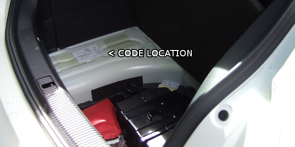 Audi paint codes | Where is my colour code location ?