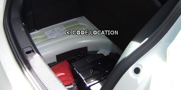 Audi A Paint Code Location